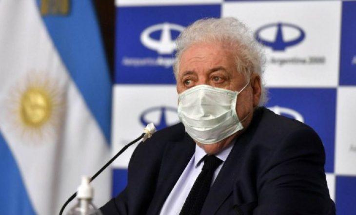 Ministri i Shëndetësisë i Argjentinës jep dorëheqjen pas skandalit me vaksinat kundër COVID-19