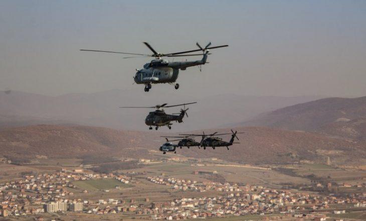 KFOR-i fillon trajnimin e helikopterëve në qytetet e Kosovës