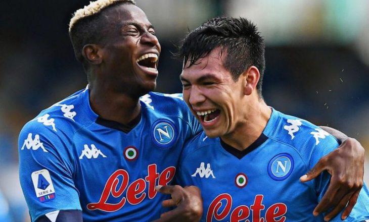 Dy lojtarë të Napolit shërohen nga COVID-19