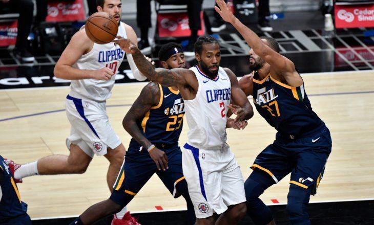 Clippers arrinë fitore kundër Utah Jazz