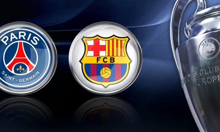 Sonte super-ndeshja PSG-Barcelona