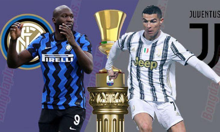 Gjysmëfinalja e Kupës së Italisë Inter vs Juventus – formacionet