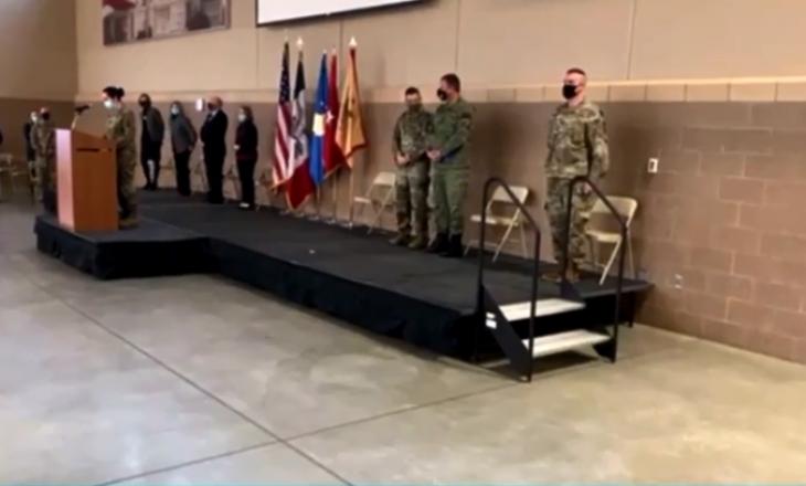 Ceremonia e dytë e dërgimit të ushtarëve të Kosovës në misione paqëruajtëse (VIDEO)