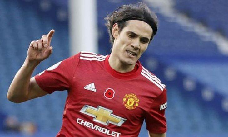 Manchester United do t'i rinovojë kontratën uruguaianit Cavani