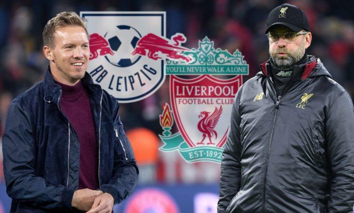 Leipzig vs Liverpool – Formacionet