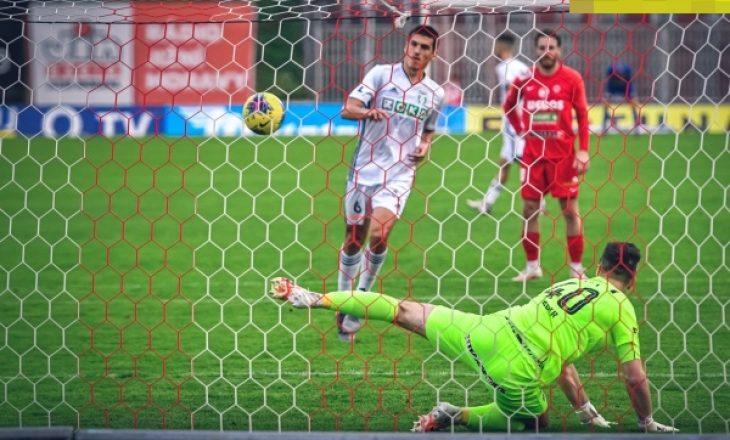 Mesfushori shqiptar Kristi Qose shënon gol për Karvinën në kampionatin çek