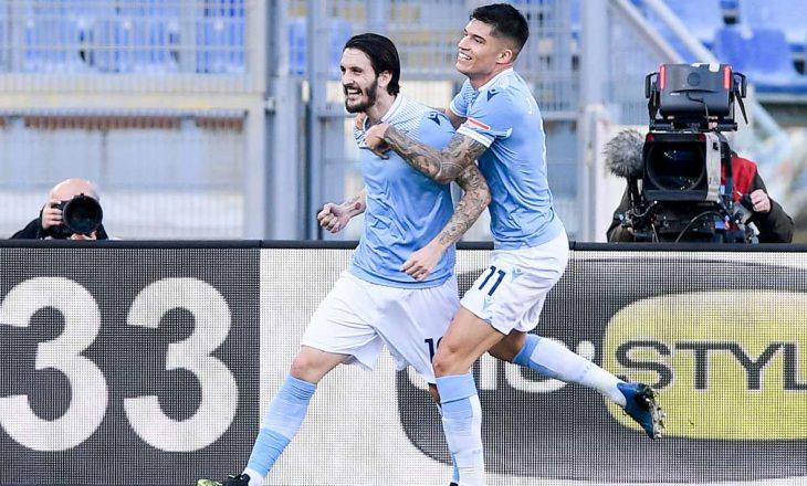 Lazio mposht minimalisht Sampdoria-n, ngritet përkohësisht në vendin e katërt