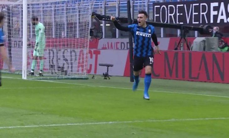 Inter kalon në epërsi pas vetëm pesë minutash lojë ndaj Milan-it