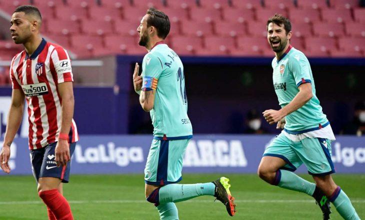 Levante befason Atletico-n në Madrid
