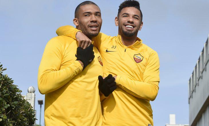 Mbrojtësve brazilian, Roma nuk do t'u vazhdojë kontratat në fund të sezonit