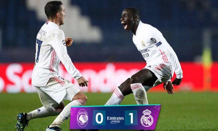 Real Madrid mposht Atalantën, Mendy hero i spanjollëve