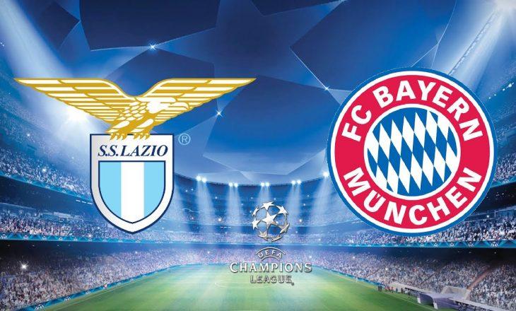 Lazio vs Bayern Munchen – formacionet e ndeshjes së parë në Champions League