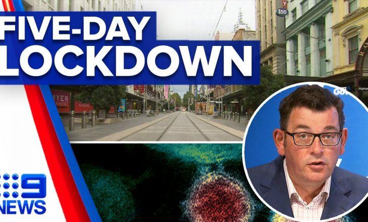 Shteti i Victoria-s në Australi njofton bllokimin pesë ditor shkaku i rritjes së rasteve me Coronavirus