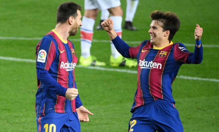 Barcelona fiton bindshëm ndaj Alaves
