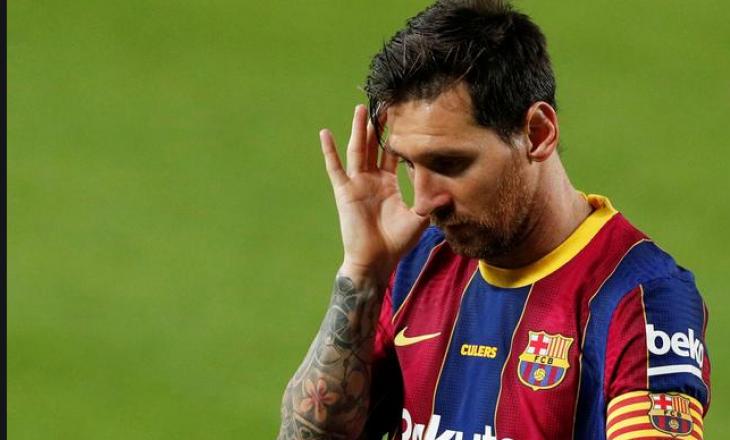 """""""Ndeshja e ardhshme me PSG-në mund të jetë e fundit e Messit në Champions League me Barcelonën"""""""