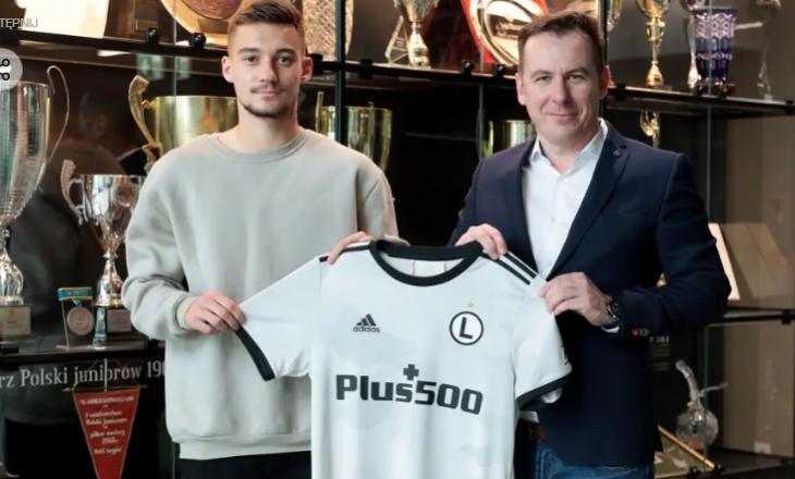 Legia e Varshavës prezanton talentin shqiptar
