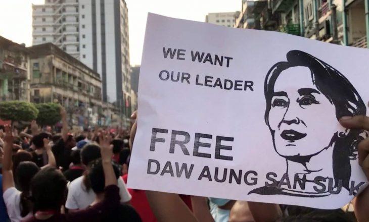 Vazhdon dita e dytë e protestave në Mianmar kundër grushtit të shtetit