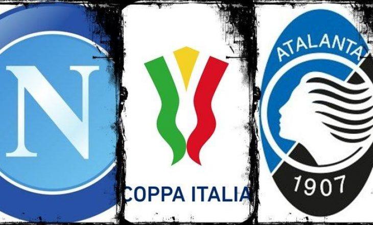 Gjysmëfinalja e Kupës së Italisë Napoli vs Atalanta – formacionet