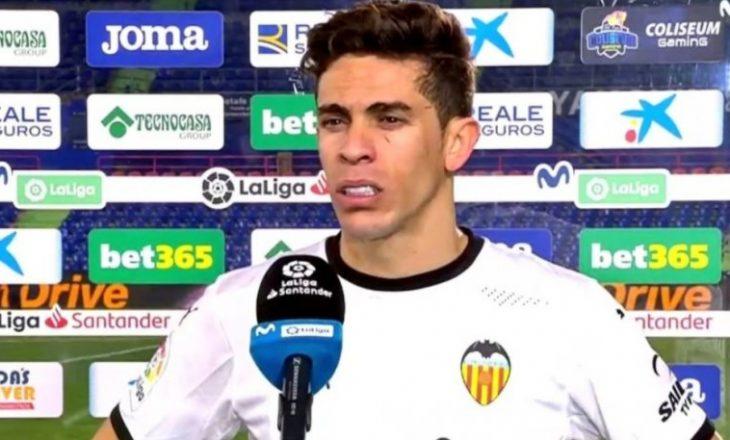 Mbrojtësi i Valencias nuk i ndal lotët pas disfatës nga Getafe