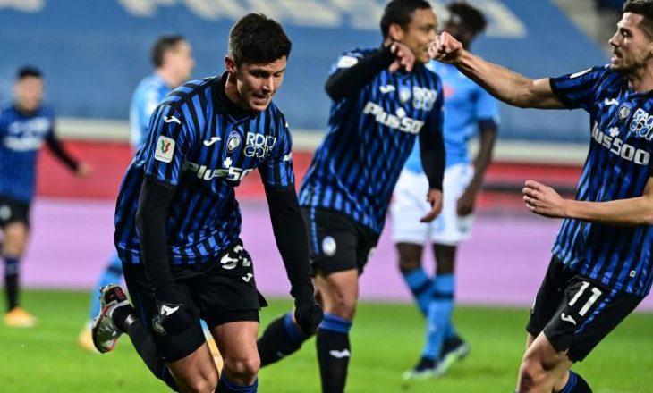 Atalanta mposht Napolin, në finalen e Kupës e pret Juventus