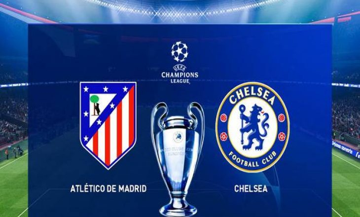 Atletico Madrid vs Chelsea – formacionet zyrtare të supersfidës