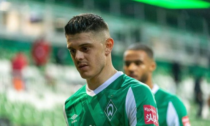 Rashica asiston në fitoren e Werder Bremen kundër Eintracht Frankfurt