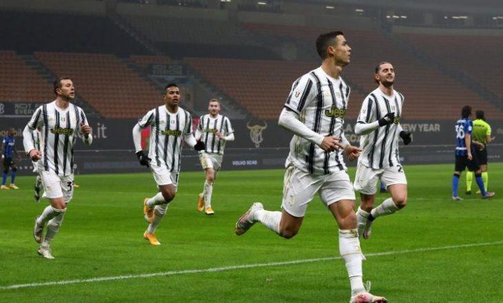 Juventus fiton përballjen e parë në Kupë, mposht Inter-in në Milano