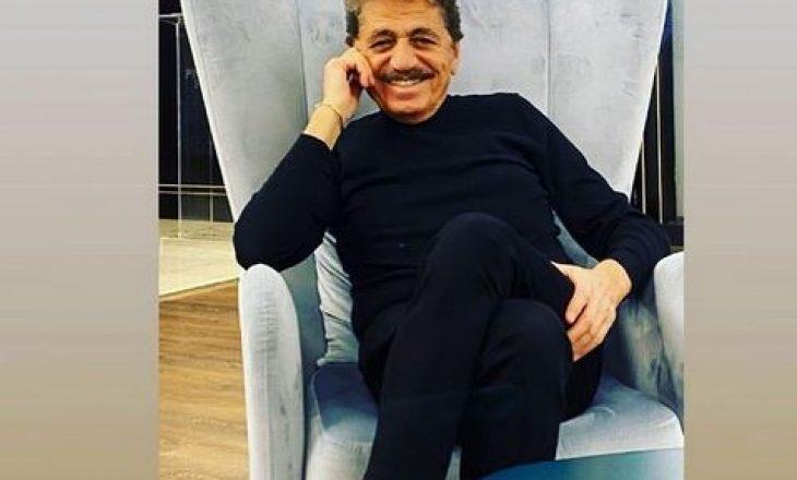 Sabri Fejzullahu publikon fotografi me të birin nga martesa e parë