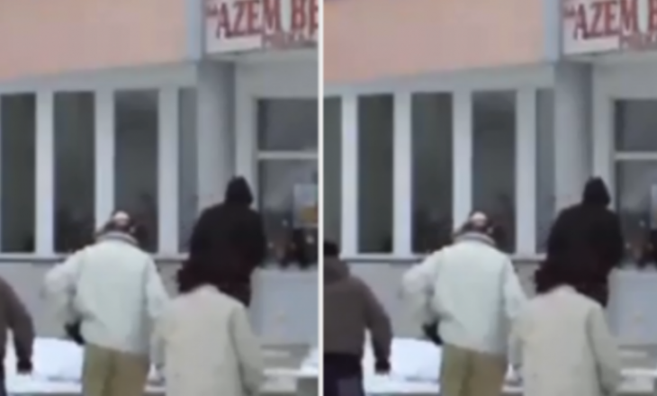 Përleshje në qendrën e votimit ne Prekaz