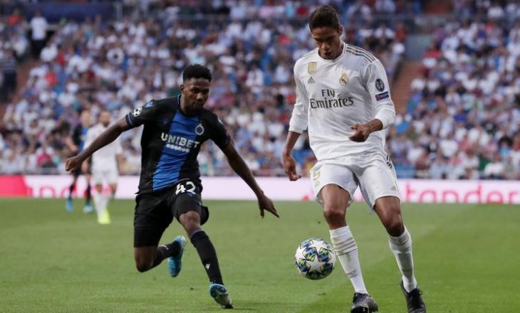 Juventus mendon përforcimin e mbrojtjes me Varane
