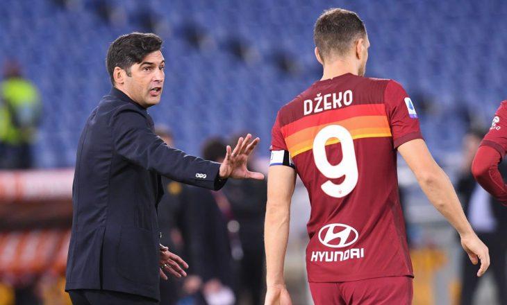 Lojtarët e Romës duan që shiriti i kapitenit t'i rikthehet Edin Dzeko-s