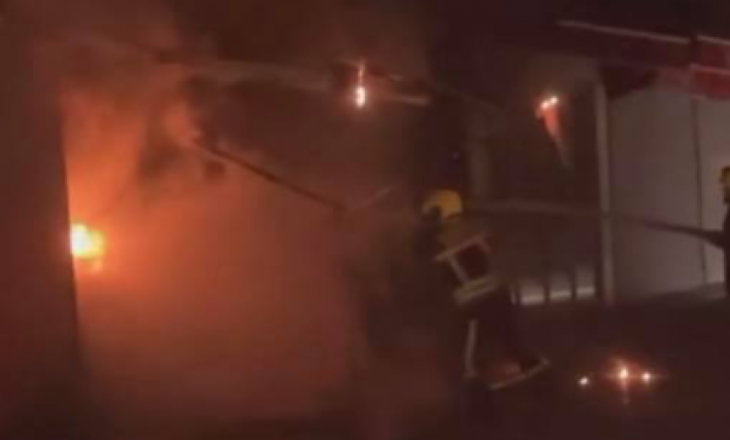 Përfshihet nga zjarri një lokal në Pejë