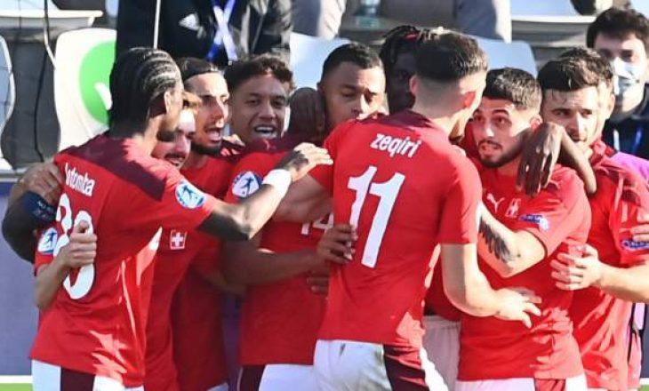 Zvicra U-21 me katër shqiptarë mposht Anglinë U-21