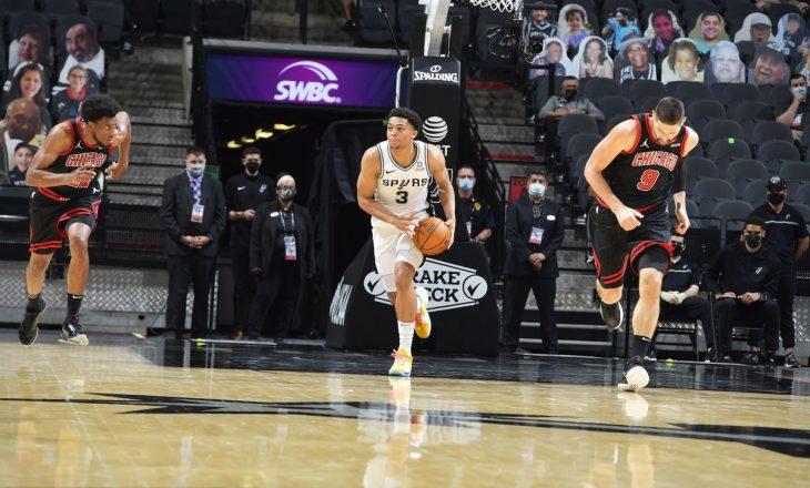 San Antonio mposht Chicago Bulls – rezultatet në NBA