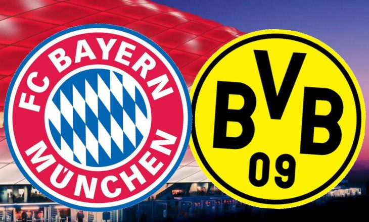 Bayern Munchen vs Borussia Dortmund – formacionet e derbit gjerman