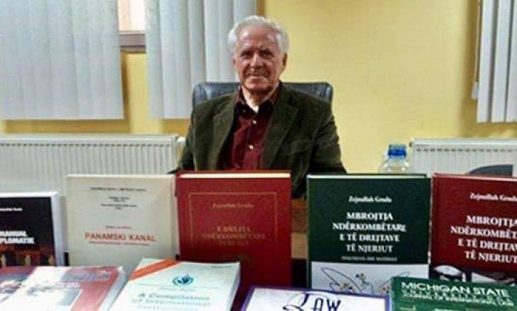 Vdes profesori universitar Zejnullah Gruda