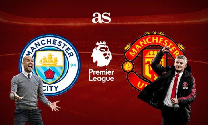 City vs United – formacionet zyrtare të derbit anglez
