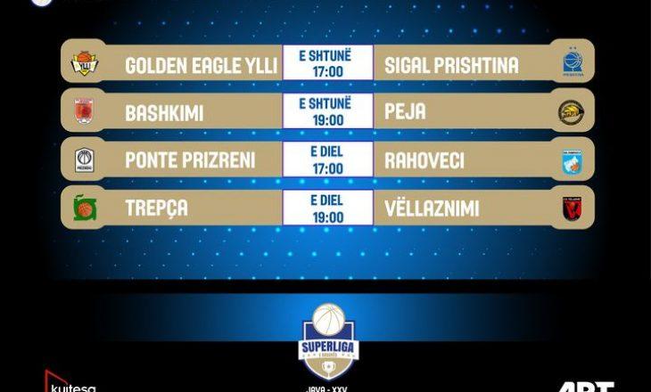 Fundjava me ndeshje interesante në Superligën e Kosovës në basketboll