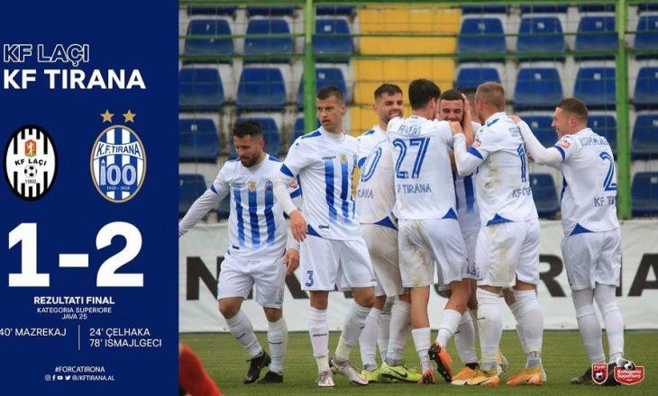 Kategoria Superiore: Vllaznia dhe Tirana fitojnë – rezultatet