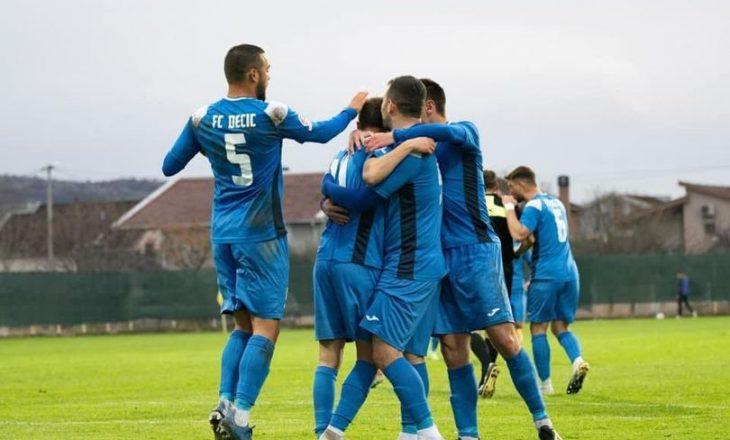 Deçiqi barazon si mysafir i Petrovacit, ekipi nga Tuzi mbetet në vendin e dytë në ligë