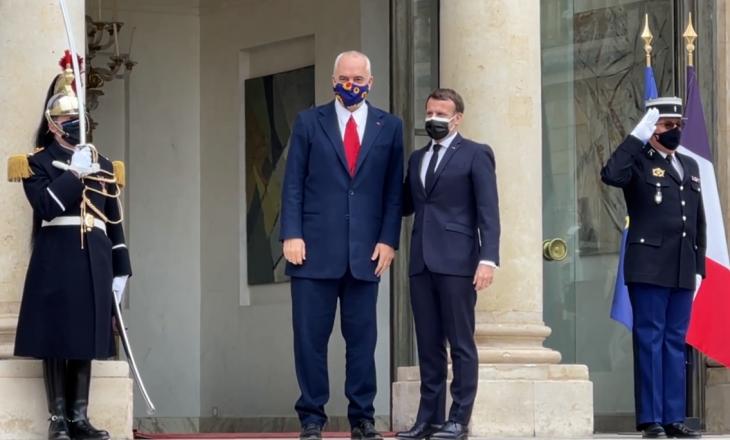 Rama takohet me Macron, mësohen çështjet që do të diskutohen