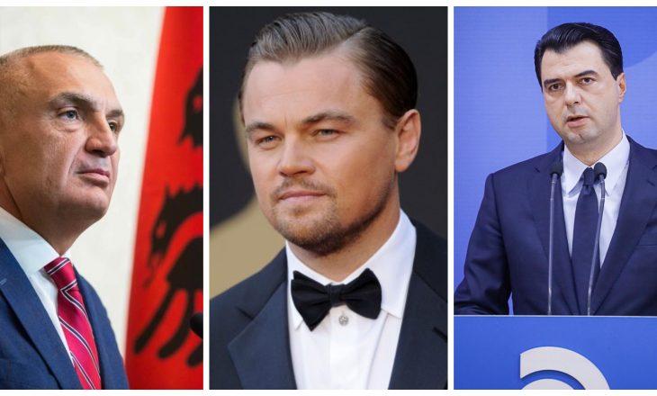 Leonardo DiCaprio merr përgjigje nga Ilir Meta dhe Lulzim Basha