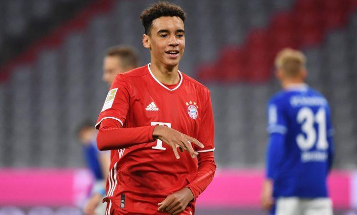 Talenti Musiala rinovon kontratën me Bayern Munchen