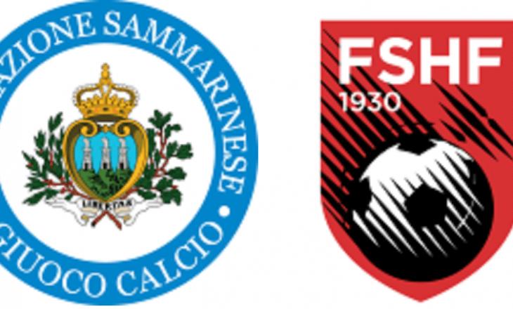 San Marino vs Shqipëria – formacionet