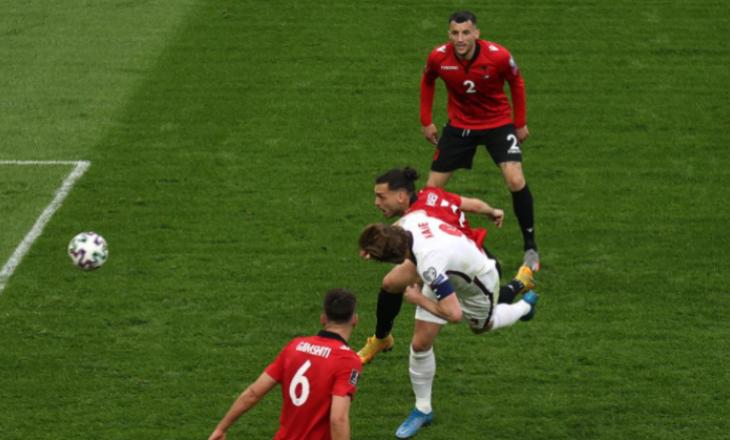 Shqipëria në disavantazh pas pjesës së parë ndaj Anglisë