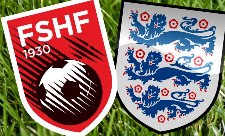 Formacionet zyrtare të ndeshjes eliminatore Shqipëri vs Angli