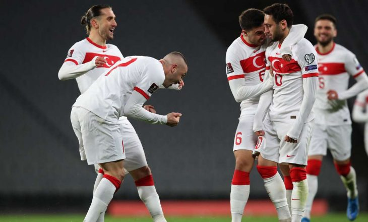 Turqia shënon fitore kundër Holandës për ndeshjet kualifikuese 'Qatar 2022'