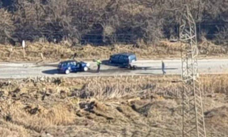 Katër të lënduar në një aksident trafiku në magjistralen Gjilan-Prishtinë
