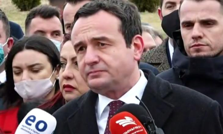 Kurti: Askush nuk u gjykua për krimin ndaj familjes Jashari