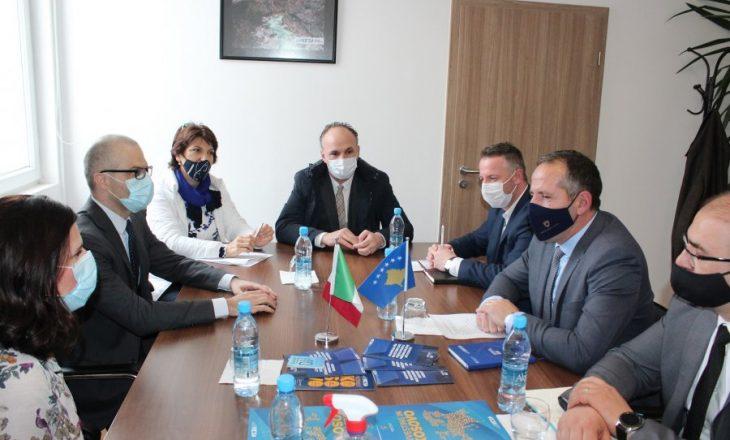 Orlando njofton për hapjen e zyrës tregtare në kuadër të Ambasadës së Italisë në Kosovë